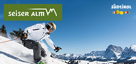 Genuss-Skigebiet SEISER ALM