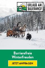 Barrierefreier Urlaub am Bauernhof