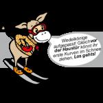 Filzy der Wedelkönig im Familienhotel Filzmooserhof in Salzburg