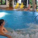 Wellnessbereich im Hotel Babymio in Kirchdorf in Tirol