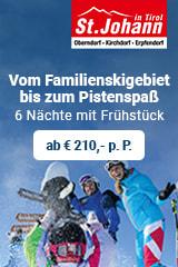 Pensionen und Bauernhöfe in der Region St. Johann in Tirol