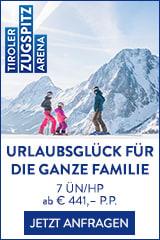 Familienurlaub in der Zugspitz Arena