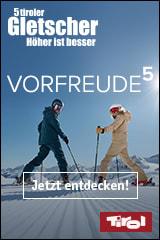 Familienurlaub auf den 5 Tiroler Gletschern